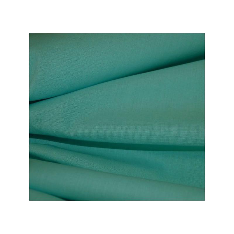 Toile à drap bleu turquoise