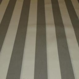 Tissu extérieur  blanc cassé/ gris clair