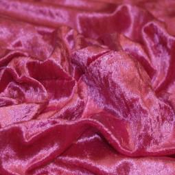 Panne de velours rose foncé
