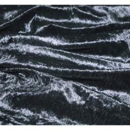 panne de velours gris moyen