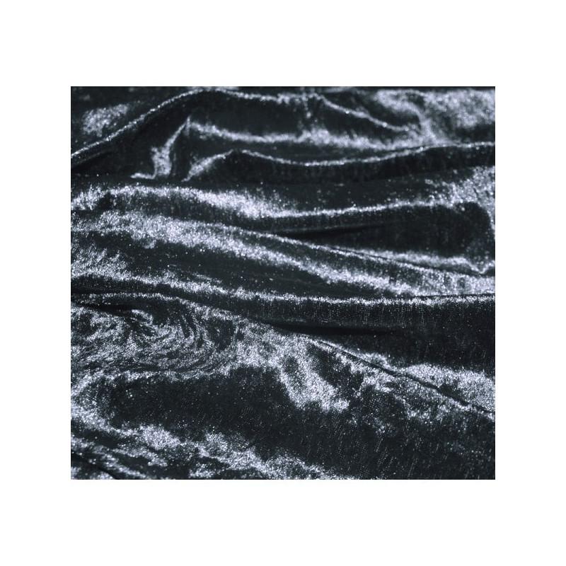 panne de velours gris foncé