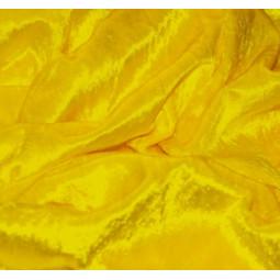 panne de velours  jaune fluo