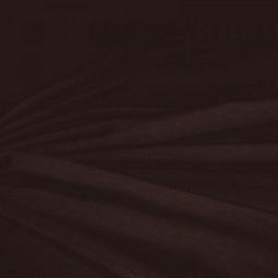 Tissu jersey chocolat