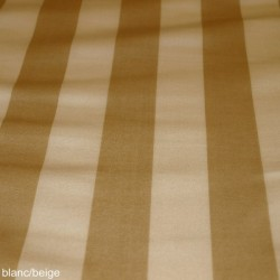 Toile transat  blanc/beige