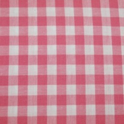 Tissu vichy moyen carreaux
