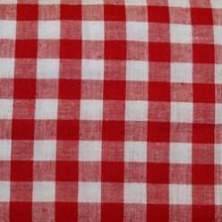 Tissu vichy grands carreaux