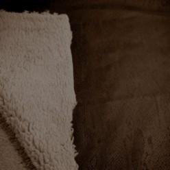 Tissu imitation mouton