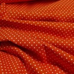 Tissu coton petits pois