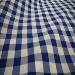 Tissu vichy polyester